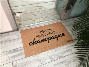 VISITOR MUST BRING CHAMPAGNE
